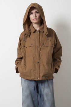 Margaret Howell MHL army jacket utility cotton - wendela van dijk