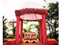 Image result for indian wedding mandap outdoor
