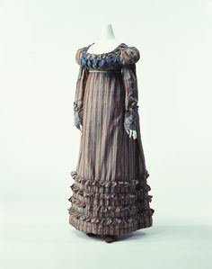 Day Dress    1820s    The Kyoto Costume Institute