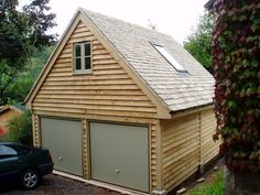 Within the previous ten years that negative view of the garage has altered considerably. Climatizing the garage has actually become far more than an afterthought. Garage Room, Garage House, House Front, Carport Garage, Garage Attic, Dream Garage, Garage Renovation, Garage Remodel, Prefab Extensions