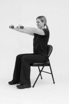 Strength Training, Balance & Chair Exercises for Seniors. #Exercise #ATBproject #YCH