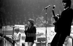 Rolling Stones in Münster Hermann Schröer/Timeline Images #1965 #60s #60er #Rock #Konzert #Musik