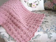 Cozy Comfort Prayer Shawl Pattern includes instructions for both one-color & three-color versions.