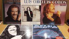 LUIS COBOS. CONJUNTO DE 5 LP DE MUY BUENA CALIDAD. ***/***