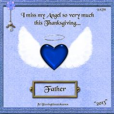 Missing my Father this Thanksgiving