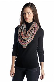 Collection XIIX Color Bright Knit Loop Scarf