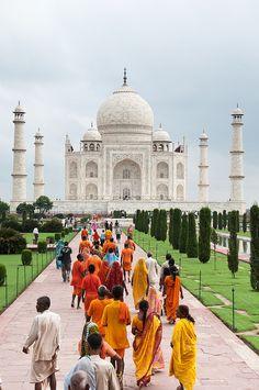 Taj Mahal Unesco world heritage India via Flickr