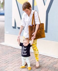 The Simple Tote keeps you hands free for what's most important. Loving this one. Thanks to @sshawn11 !