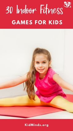 Easy indoor fitness activities to help highly energetic kids burn off some energy and get them moving with a purpose before you lose your mind. Activities For 5 Year Olds, Physical Activities For Kids, Motor Skills Activities, Craft Activities For Kids, Therapy Activities, Toddler Activities, Kids Crafts, Fitness Games For Kids, Kids Fitness
