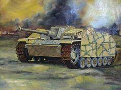 painting tanks ww2