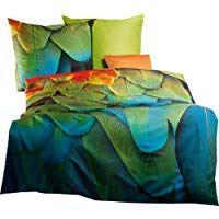 Kaeppel Mako Satin Bettwasche Exotique 155x220 Cm 80x80 Cm Heimtextilien Trend Bad Bettwaren Home Mako Satin Bettwasche Satin Bettwasche Bettwasche