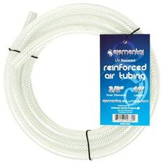 """Elemental Solutions O2 Reinforced Air Tubing 3/8"""""""", 10"""