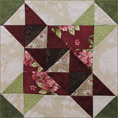 Fabric Essentials block for the 2015 Patchwork Party