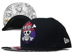 Portgas D  Ace One Piece New Era Hats 6668