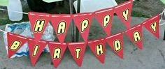 Lego birthday banner Lego birthday Lego party Lego by TinkerCloset