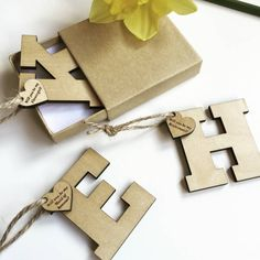 Will You Be My Bridesmaid Initial Gift