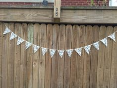 Lace Bunting Garland Pennant Wedding Photo Prop Party