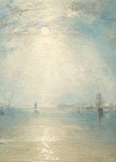 J. M. W. Turner, Keelmen Heaving in Coals by Moonlight (detail), 1835 (x)