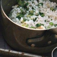 Ginger-Cilantro Rice Recipe - Bon Appétit