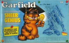 """Garfield - Sheer Genius (Garfield Landscape Books)"" av Jim Davis"