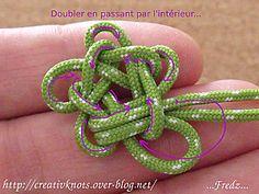 5-star-knot-1-strand-finger --by-- CreativeKnots