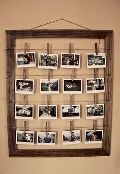 This would be so cute if I could get a picture of everyone of THEIR wedding day to display at ours <3