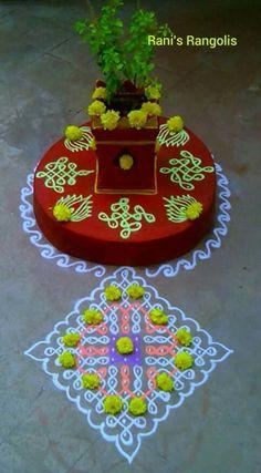 Housewarming Decorations, Diwali Decorations, Festival Decorations, Flower Decorations, Ceremony Decorations, Rangoli Ideas, Kolam Rangoli, Flower Rangoli, Rangoli Designs Images