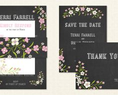 Chalkboard Thank Yo, Picture Collection, Save The Date, Rsvp, Chalkboard, Stationery, Barn, Personalized Items, Pretty
