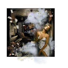 STEAMY HOT by diaparsons on Polyvore featuring art