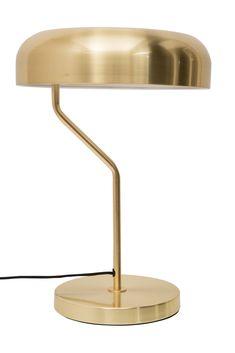 Dutch Bone-Lampada da scrivania Eclipse in ottone
