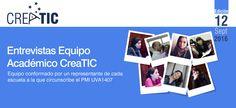 Ya se encuentra disponible nuestra 12ª edición del Boletín Creatic UV, especial equipo académico del programa y lanzamiento de la jornada de primavera, con invitado de lujo, Julio Cabero Almenara