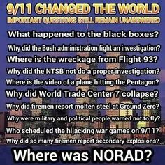 We will never know the truth about 9-11.