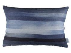 Washed Denim Cushion - D E N A M E - Room for Denim