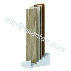 WWD029 Trade Show flooring tiles display rack