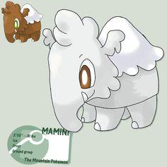 Starter: Mt.minicule mammoth by G-FauxPokemon.deviantart.com on @DeviantArt