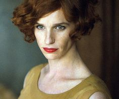 Eddie Redmayne as The Danish Girl 2015