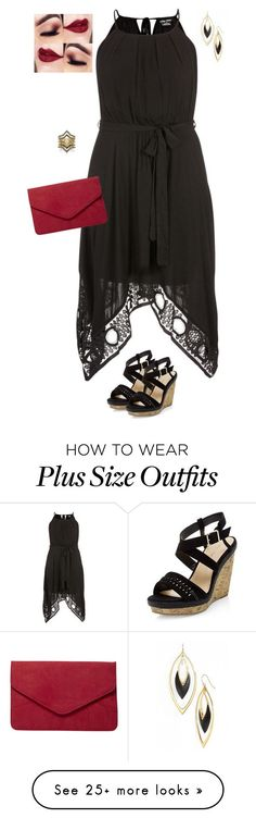 """""""Your loss is His gain plus size"""" by jacobjarettsmom on Polyvore featuring Alexis Bittar, City Chic, New Look, Dorothy Perkins, BCBGeneration, plussize, summerfashion, plussizefashion and plus size dresses"""