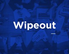 """Check out this @Behance project: """"Wipeout"""" https://www.behance.net/gallery/45620217/Wipeout"""