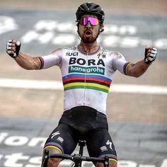 The King Peter Sagan wins Paris Roubaix 2018