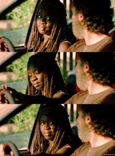 S5E11 Rick & Michonne