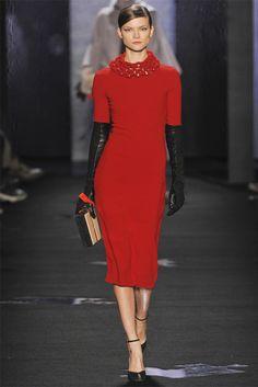Sfilata Diane von Furstenberg New York - Collezioni Autunno Inverno 2012-13 - Vogue  Classic
