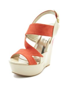 Mixed Patent Color Block Wedge
