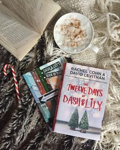 """I'll be reading The Twelve Days of Dash & Lily in December and I can't wait to reread book one as well. ❤️✨❄️☕️ . I'm not really a """"seasonal"""" reader, but I enjoy one good holiday story during Christmas time, I'm hoping this one does the trick."""
