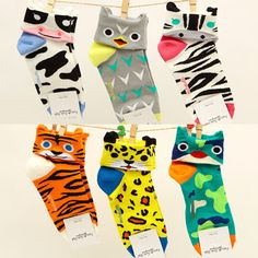 2013 spring short cartoon animal ear casual women's short socks-in Socks from Apparel & Accessories on Aliexpress.com Spring Shorts, Short Socks, Animal Ears, Cartoon, Casual, Animals, Accessories, Fashion, Moda