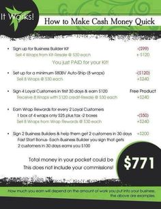 """This can easily be your first month as a distributor.. http://kerryberube.itworks.net Click opportunity  Want to learn about ItWorks! Click """"about us""""   Best thing I ever did for my family!"""
