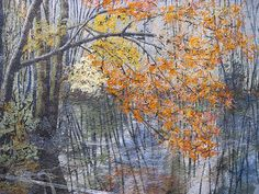Radiant Reflections by Noriko Endo by armchairquilter, via Flickr