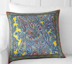 Evangeline Pillow Cover | Pottery Barn