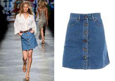 denim skirts - Google Search