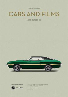 Gran Torino car movie poster art print Cars And by CarsAndFilms Gran Torino auto filmposter art print auto's en door CarsAndFilms Ford Torino, Minimal Movie Posters, Car Illustration, Alternative Movie Posters, Car Posters, Movie Poster Art, Car Drawings, Automotive Art, Car Pictures