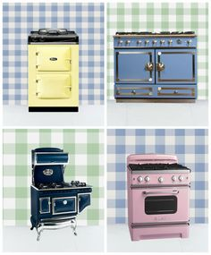 With top-of-the-line materials and a multitude of head-turning hues, the following brands are putting an antique spin on brand spankin' new appliances.
